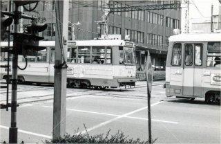 大手町駅前 伊予鉄道 松山 昭和54 1979