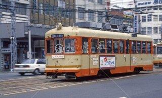 伊予鉄道 市内線 松山駅前 大手町間 平成2,1990