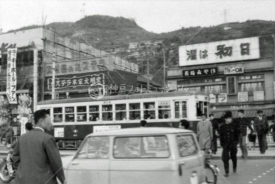 長崎電気軌道 304 長崎駅前 1963...