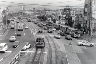 長崎市電 バス 昭和56 1981