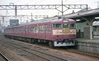 鹿児島本線 熊本 415系マイタウン 昭和61 1986