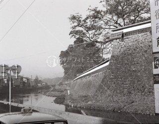 熊本城 市役所前 昭和39 1964