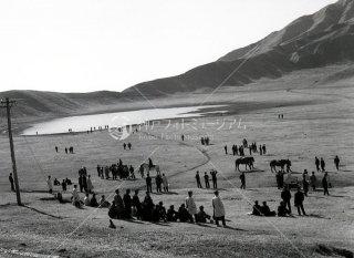 草千里ケ浜 乗馬 阿蘇 昭和39 1964