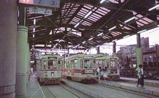 鹿児島駅前停留所 車庫 鹿児島市電 平成6 1994