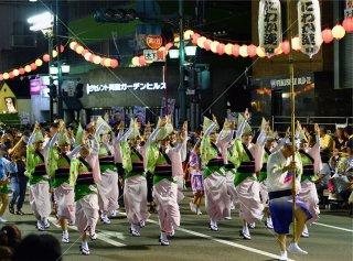 徳島 にわか連 すいきょう連 両国演舞場 平成29年