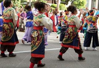 神戸まつり よさこい 三宮中央大通り 平成30年