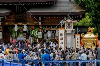 湊川神社楠公祭武者行列 平成30年5月26日