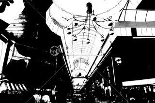 明石 魚の棚商店街 平成27年