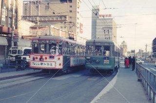 神戸市電 さよなら電車 三宮