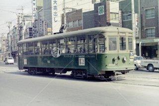 神戸市電 福原 昭和44 1969頃