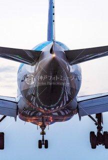 飛行機 着陸 伊丹空港