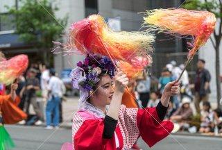 神戸まつり エリーロンドン美容室 三宮中央通り 令和元年