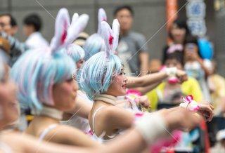 神戸まつり ZIPPY DANCE STUDIO 白うさぎ三宮中央通り 令和元年