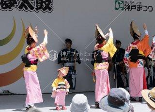 神戸ちるど連 神戸まつり夢太鼓 平成30年5月