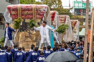 垂水四ヶ村布団太鼓 海神社宮入巡行 令和元年 奉祝