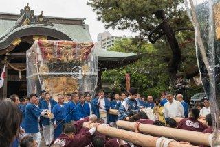西・東垂水布団太鼓 海神社宮入 令和元年 奉祝