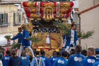 海神社秋祭 西垂水布団太鼓巡行 歌敷山 令和元年