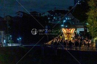 海神社秋祭 東高丸布団太鼓巡行 東垂水町福田川 令和元年