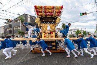 海神社秋祭 西垂水布団太鼓巡行 瑞穂通 令和元年
