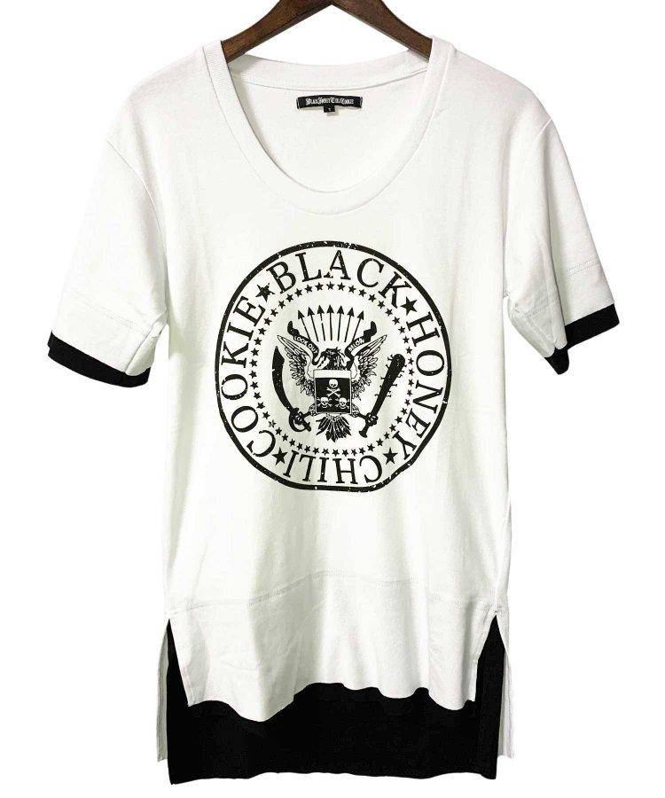 BLACK HONEY CHILI COOKIE(ブラックハニーチリクッキー)Great Seal Tee 【White】