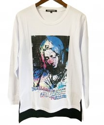 BLACK HONEY CHILI COOKIE(ブラックハニーチリクッキー)Saint Mary L/S Tee【White】
