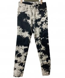 KMRii(ケムリ)Tie Dye Stretch Twill Pants
