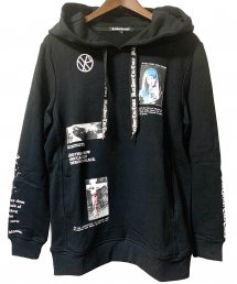 BLACK HONEY CHILI COOKIE(ブラックハニーチリクッキー)Graphics Parka【Black】