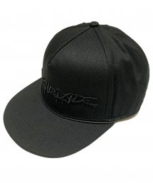 SWITCHBLADE (スイッチブレード) SB SPRAY LOGO CAP【Black × Black】