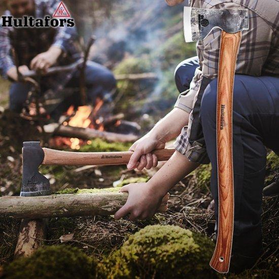 斧 ハルタホース オーベイフォレストアックス キャンプ アウトドア Hultafors hu-av08417700