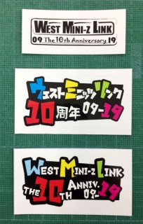 WML10周年記念ステッカー(3種set)<img class='new_mark_img2' src='https://img.shop-pro.jp/img/new/icons1.gif' style='border:none;display:inline;margin:0px;padding:0px;width:auto;' />