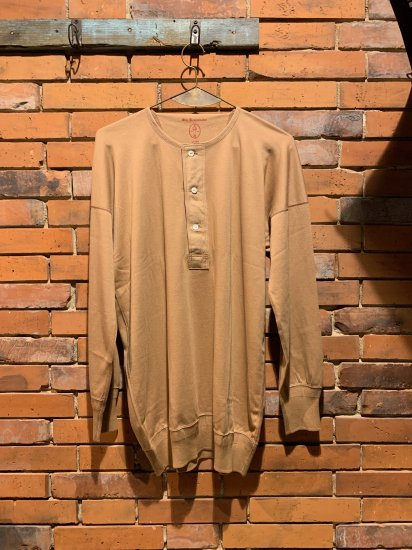 OLDE HOMESTEADER/HENLY NECK LONG SLEEVE(CAMEL)