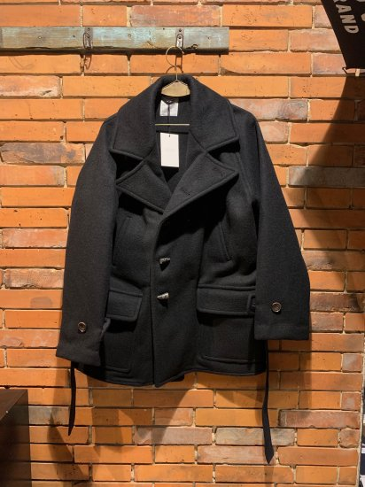 FILL THE BILL/MELTON RAGLAN COAT