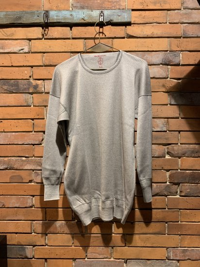 OLDE HOMESTEADER/CREW NECK LONG SLLEVE(SWEDISH ARMY RIB)