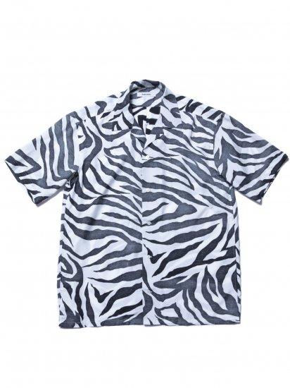ROTTWEILER/Tiger Open Collar SS Shirts
