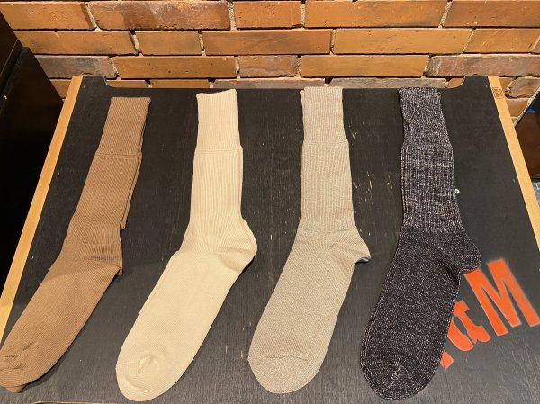 <img class='new_mark_img1' src='https://img.shop-pro.jp/img/new/icons1.gif' style='border:none;display:inline;margin:0px;padding:0px;width:auto;' />OLDE HOMESTEADER/HEAVY WEIGHT SOCKS Plain RIB