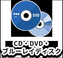 CD・DVD・ブルーレイディスク研磨・再生サービス