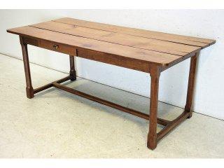 dt-11 1880年代 イギリス製 アンティーク ヴィクトリアン エルム ファーマーズテーブル