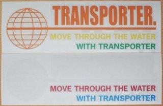 トランスポーターカラーステッカー【TRANSPORTER】