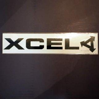 エクセルステッカー【XCEL】横長ロゴステッカー