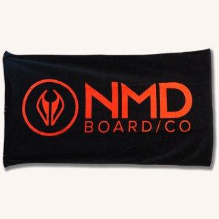 NMDオリジナルタオル ブラック【NMD】146×83cmの大判スポーツタオル