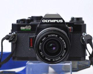 【AB⁺ 良品】OLYMPUS OM-40プログラム Body ブラック+ 【AB 良品】レンズOM-SYSTEM ZUIKO AUTO-W f2.8 35mm