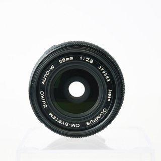 【AB良品】オールドレンズOM-SYSTEM  ZUIKO AUTO-W 28mm f2.8