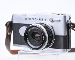 【AB良品】OLYMPUS PEN-FV[108428]+レンズE.ZUIKO AUTO-W f4 25mm  [122070] ハーフサイズカメラ オリンパス ペン