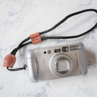 【New】カメラハンドリストストラップ ブラック×ブラウン(カメラと同時購入のみ)