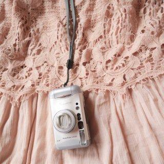 【AB】カメラロングストラップ グレー(カメラと同時購入のみ)