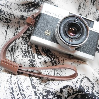 【New】レザーカメラハンドリストストラップ ブラウン(カメラと同時購入のみ)