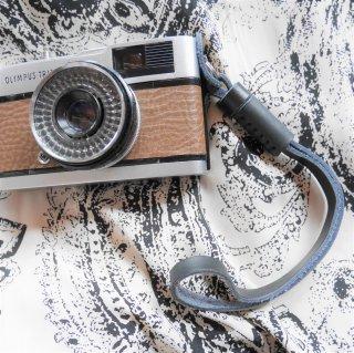 【New】レザーカメラハンドリストストラップ ブラック(カメラと同時購入のみ)
