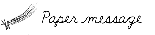 Paper message オンラインショップ