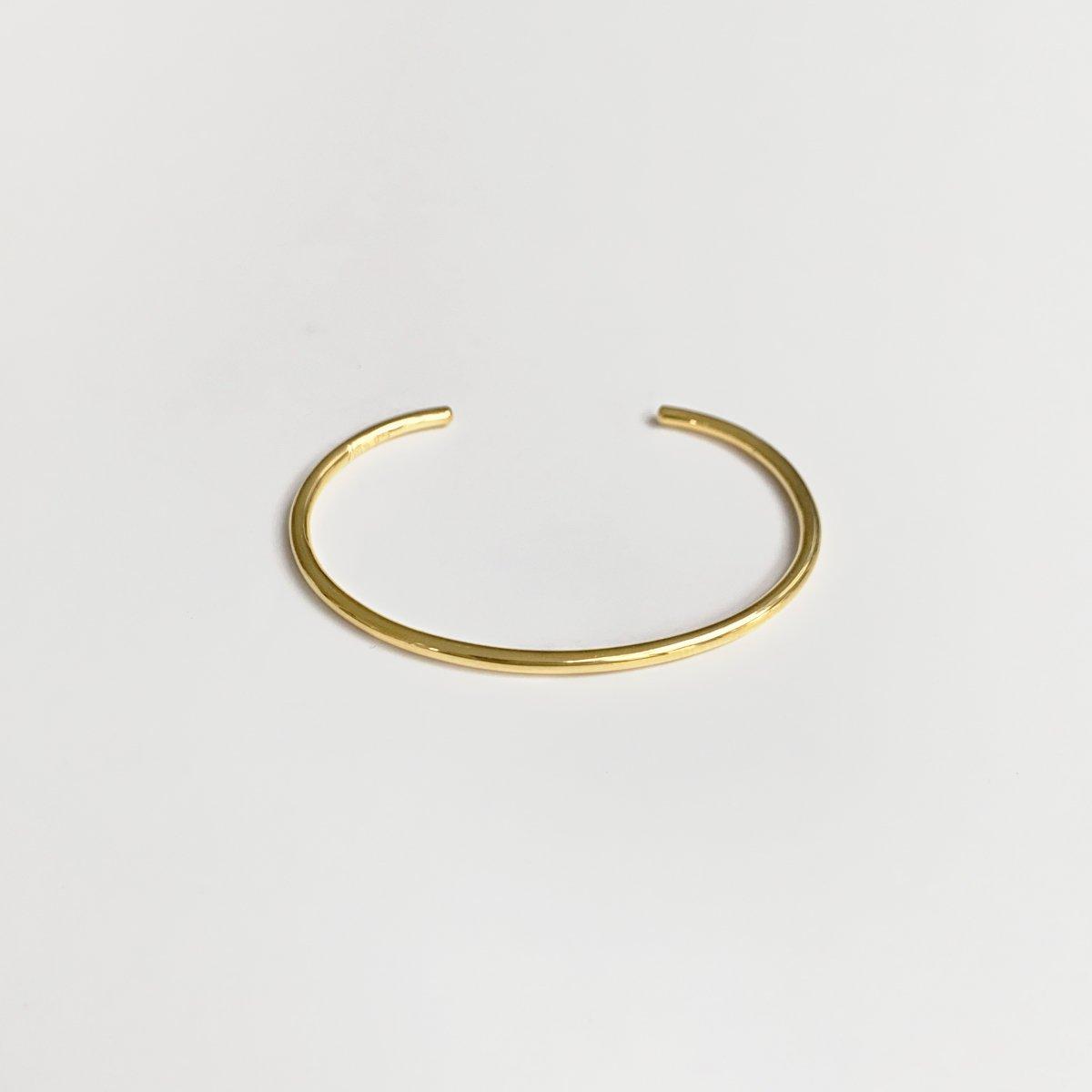 L bangle gold