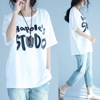 カジュアル Tシャツ 半袖 オーバーサイズ ビッグシルエット